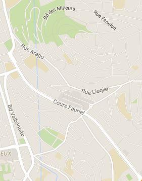 Saint-Etienne quartier Fauriel