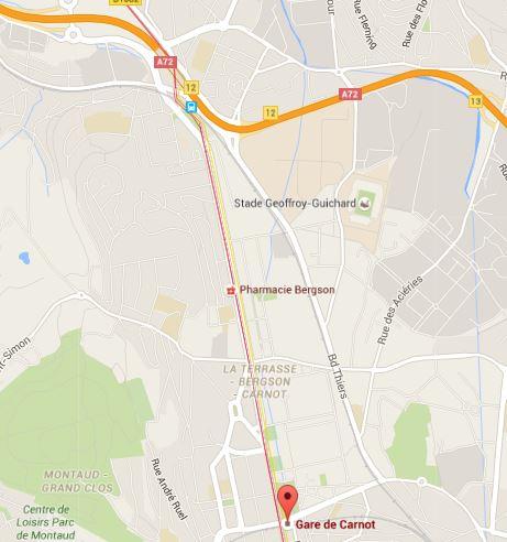 Présentation du quartier Carnot à Saint-Etienne