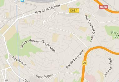 Saint-Etienne quartier Montplaisir